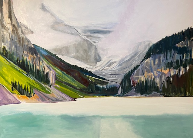 Changing Vistas Oil 36 by 38
